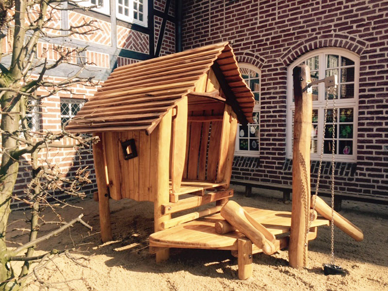 kindergarten spielhaus holz cc94 hitoiro. Black Bedroom Furniture Sets. Home Design Ideas